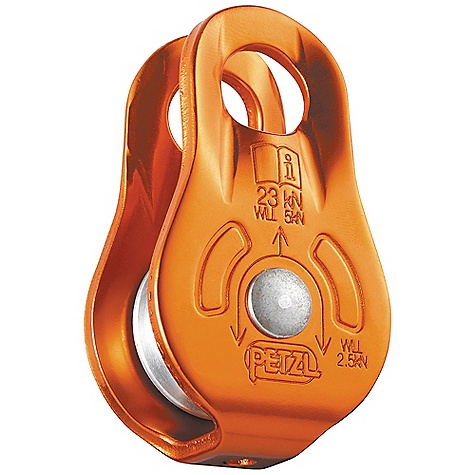 Climbing Petzl Fixe Pulley DECENT FEATURES of the Petzl Fixe Pulley Lightweight, compact pulley Designed for hauling systems and deviations Fixed side plates allow quick installation and coupling with a rope clamp Sheave mounted on self-lubricating bushings for efficiency The SPECS Weight: 90 g Case Quantity: 8 Rope Diameter: Minimum: 7 mm, Maximum: 13 mm Sheave Diameter: 21 mm Efficiency: 71% Working Load: 2.5 kN x 2 = 5 kN Breaking Strength: 23 kN Material(s): Aluminum side plates, aluminum sheav Certification(s): CE EN 12278, UIAA ALL CLIMBING SALES ARE FINAL. - $25.95
