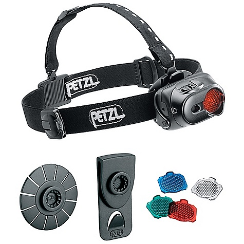 Camp and Hike On Sale. Free Shipping. Petzl Tactikka XP Adapt Headlamp DECENT FEATURES of the Petzl Tactikka XP Adapt Headlamp The light source can be attached to multiple mounts The ADAPT syst em allows the light body to be removed from the headband and att ached to a belt or jacket with the clip mount, or to a helmet or other hard surface with the adhesive mount A single light source for multiple lighting needs Four lighting modes: Maximum, economic and strobe Flood beam for sharp proximity lighting (Wide Angle lens) Spot beam shines up to 35 meters Boost Mode: Shines 50 meters for up to 20 seconds Discreet proximity lighting preserving night vision Transparent Wide Angle lenses included Interchangeable lenses Carrier for second lens located on headband Battery charge indicator light Warns when the batteries are 70% and 90% discharged The SPECS Certification(s): CE Case Quantity: 24 Weight: 120 g Weight Worn on Head: 120 g Beam Pattern: Wide or focused Maximum Light Quantity: 40 lumens Maximum Lighting Distance: 35 m Maximum Battery Life: 120 Number of Batteries: 3 Battery Type (included): AAA/LR03 Water Tightness: IP X4 (water resistant) Material: Wide Angle lenses made of impact resistant polycarbonate Maximum mode: Light Quantity: 40 lumens, Distance t=0: 35 m, Distance t=0h30: 30 m, Distance t=10h00: 20 m, Distance t=30h00: 7 m, Battery life: 60 h Optimum mode: Distance t=0: 27 m, Distance t=0h30: 25 m, Distance t=10h00: 19 m, Distance t=30h00: 9 m, Battery life: 80 h Economic mode: Distance t=0: 18 m, Distance t=0h30: 17 m, Distance t=10h00: 15 m, Distance t=30h00: 13 m, Battery life: 120 h - $55.96