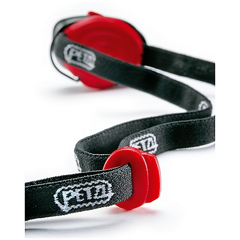 Petzl e+Lite Headband DECENT FEATURES of the Petzl e+Lite Headband Replacement elastic headband for the Petzl e+Lite headlamp Exact same headband that is included with the e+Lite headlamp Holds the e+Lite lamps and emergency whistle that attach with a clip attachment system Sold individually, and separate of the e+Lite headlamp. - $4.95