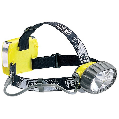 Camp and Hike Free Shipping. Petzl Duo LED 5 Headlamp FEATURES of the Petzl Duo LED 5 Headlamp Rugged headlamp Durable construction Waterproof down to -5 meters Two light sources to choose from depending on the activity Halogen light for long-range, focused lighting with regulated zoom Five LEDs for flood beam lighting with a long burn time Comfortable and easy to use Adjustable and comfortable elastic headband On/off switch can be locked to prevent accidental operation Light body can be tilted Space for spare halogen bulb in the light body of the headlamp - $121.95
