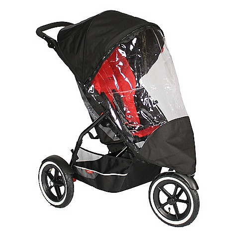Entertainment Phil & Ted's Storm Cover - Explorer FEATURES of the Explorer Buggy Storm Cover by Phil and Ted's Compatible with the Phil and Ted's Explorer buggy Custom fit Allows airflow and great breathability Entirely waterproof Keeps tots dry and protected from the elements Provides easy visibility inside the stroller - $34.99