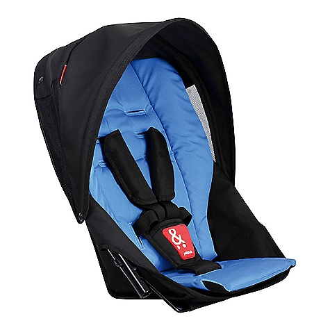 Entertainment Free Shipping. Phil & Ted's Navigator DK DECENT FEATURES of the Phil & Ted's Navigator DK Inline functionality for your Navigator stroller Complete with sunhood and seat liner One hand seat recline for snoozy passenger number two Maximum weight capacity 20kg / 44lbs in front position, 15kg / 33lbs in rear position Safety tested for use with car seat (using car seat adaptor) at the same time - $149.99