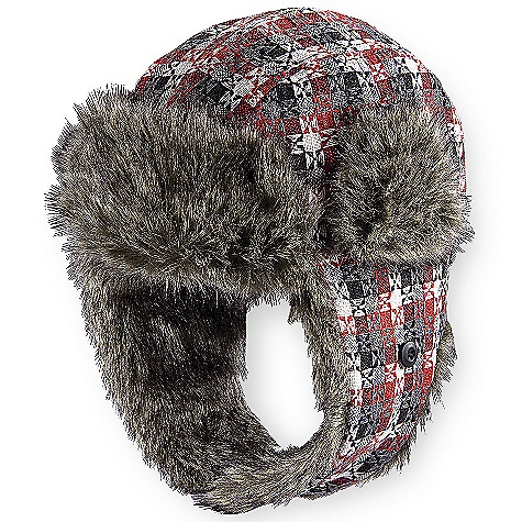 Entertainment On Sale. Pistil Women's Natasha Hat DECENT FEATURES of the Pistil Women's Natasha Pistil Best Seller Abstract tweedy plaid design Made with a wool and polyester blend Faux fur and satin lining for added warmth and comfort The SPECS Fabric: Wool Poly Imported - $23.99