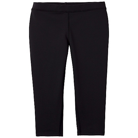 Free Shipping. Prana Women's Ashley Knicker Legging DECENT FEATURES of the Prana Women's Ashley Knicker Legging Chakara performance fabric Elastic inside waistband Body conscious fit for best function Gusset for added comfort Inseam: 15in. / 38.1 cm Fitted Low Rise - $54.95