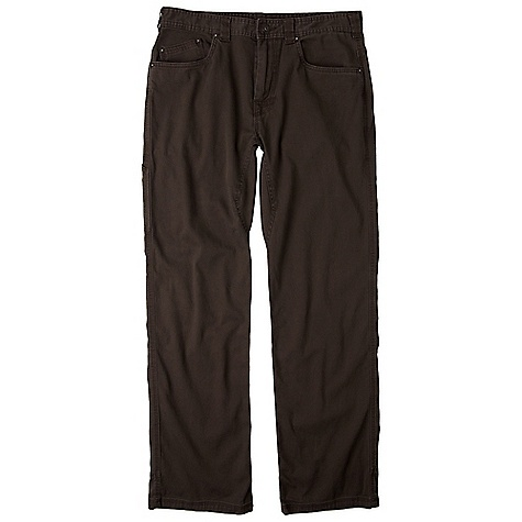 On Sale. Free Shipping. Prana Men's Bronson Pant DECENT FEATURES of the Prana Men's Bronson Pant Stretch canvas with peached finish 5-Pocket styling with fixed waist and beltloops Reinforced rivet detailing Triple needle stitching for durability Full inseam gusset Available in multiple inseam lengths Standard fit The SPECS 98 Organic Cotton / 2 Spandex - $44.99