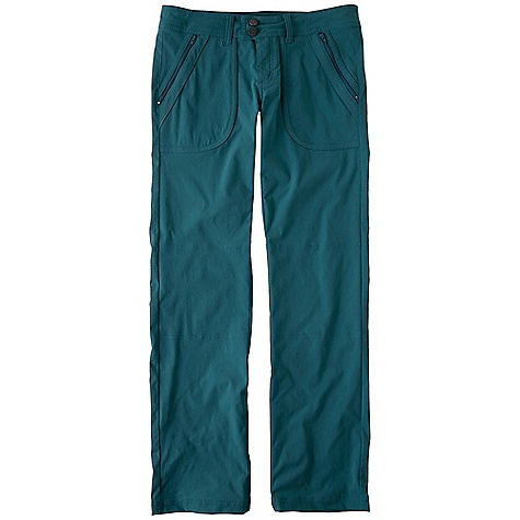 On Sale. Free Shipping. Prana Women's Essex Pant DECENT FEATURES of the Prana Women's Essex Pant Stretch Zion Fabrication Cross functional pant Two-way stretch with DWR coating Quick drying Extended tab waist Zippered front and back pockets Size 4 = 32in. (81.3cm) inseam Standard fit The SPECS Fabric: 97 Nylon / 3 Spandex Weight: 6.2 oz - $43.99