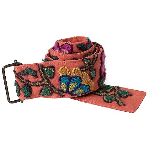 Prana Womens Embroidered Wool BeltU DECENT FEATURES of the Prana Womens Embroidered Wool BeltU Women's embroidered wool belt Intricate embroidery on a sturdy cotton sheeting The SPECS Length: 42in. / 106.7 cm Belt: 100 Cotton Embroidery: 100 Wool - $44.95