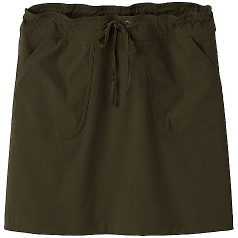 On Sale. Free Shipping. Prana Women's Bliss Skirt DECENT FEATURES of the Prana Women's Bliss Skirt Comfortable and light performance skirt Quick drying 2-way stretch fabric UPF rating of 40+ Updated styling Front pockets Drawstring waistband with grommets The SPECS Weight: 4.0 oz Outseam: small: 17.75in. / 45.1 cm Fabric: 96% Nylon / 4% Spandex - $26.99