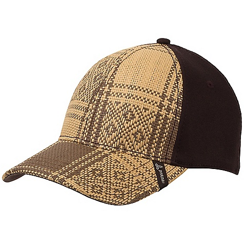 On Sale. Prana Hemp Cap DECENT FEATURES of the Prana Hemp Cap Fitted cap with textured hemp front panels and bill Prana label detail on bill The SPECS Fabric: 57% Organic Cotton / 40% Hemp Paper / 3% Spandex - $14.99