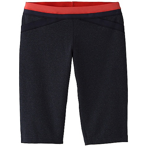 Free Shipping. Prana Women's Crissy Knicker DECENT FEATURES of the Prana Women's Crissy Knicker Chakara performance fabric Novelty elastic detail on waistband and front faux pockets Internal stash pocket feature Gusset for added comfort Inseam: 12in. / 30.5 cm Fitted Low Rise - $64.95
