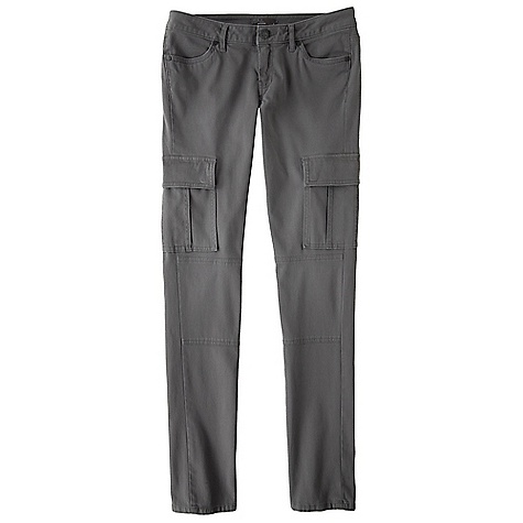 On Sale. Free Shipping. Prana Women's Brynn Skinny Cargo DECENT FEATURES of the Prana Women's Brynn Skinny Cargo Stretch bed ford cord with enzyme wash Rivets Side and back cargo pockets Size 4=32in. (81.3 cm) inseam Fitted The SPECS Fabric: 98 Cotton / 2 Spandex Weight: 7.7 oz - $55.99