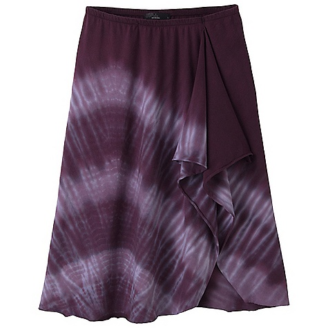 On Sale. Free Shipping. Prana Women's Marli Skirt DECENT FEATURES of the Prana Women's Marli Skirt Cotton jersey skirt with easy ruffle detail at side seam Elastic waistband Diagonal tonal dye-treatment The SPECS Outseam: small: 21.5in. / 54.61 cm Fabric: 100% Cotton - $35.99