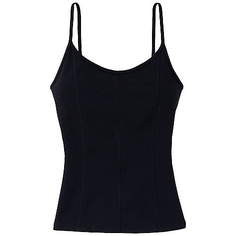 Fitness Free Shipping. Prana Women's Prism Top DECENT FEATURES of the Prana Women's Prism Top Chakara performance fabric Supportive cami silhouette with corset stylized seaming on front and back body Internal shelf bra - $54.95