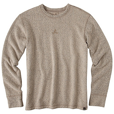 On Sale. Free Shipping. Prana Men's Sherpa Crew Top DECENT FEATURES of the Prana Men's Sherpa Crew Top A Prana classic Sherpa knit crew with brushed backside Front chest embroidery Standard fit The SPECS 80 Cotton / 20 Polyester - $53.99