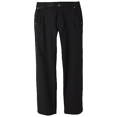 Free Shipping. Prana Men's Santo Pant DECENT FEATURES of the Prana Men's Santo Pant Soft brushed abrasion resistant stretch woven with fleece back Weather resistant Triple needle stitching Waist cinch system Ventilated gusset Mesh pocketing The SPECS Inseam: Medium: 33in. / 83.8 cm Fabric: 53 Nylon / 38 Poly / 9 Spandex - $89.95