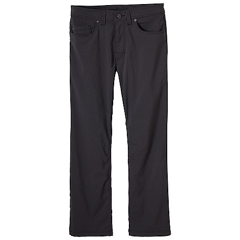Free Shipping. Prana Men's Brion Pant DECENT FEATURES of the Prana Men's Brion Pant The original Stretch 'Zion' fabric with durable water repellent (DWR) 5-pocket styling with fixed waist and beltloops Reinforced rivet details Mesh pocketing DWR coated 7.6 oz Standard fit The SPECS 97 Nylon / 3 Spandex - $69.95