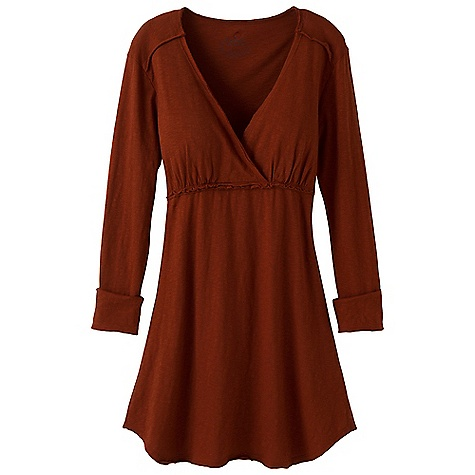 Entertainment On Sale. Free Shipping. Prana Women's Mikayla Dress DECENT FEATURES of the Prana Women's Mikayla Dress Organic cotton slub dress Easy wearing Empire waist seam with raw edge detailing Size small=34in. (86.36 cm) length from high point shoulder The SPECS Fabric: 100 Organic Cotton - $40.99