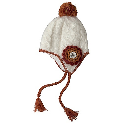 Entertainment Prana Kai Tassel Beanie DECENT FEATURES of the Prana Kai Tassel Beanie Tassel beanie style Two tone border stitching detail Decorative flower detail Fully sherpa lined Metal horn charm Standard Fit The SPECS Fabric: 100 Acrylic Shell / 100 Polyester Lining - $34.95