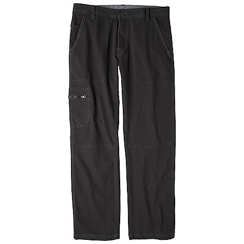 Free Shipping. Prana Men's Descent Pant DECENT FEATURES of the Prana Men's Descent Pant Abrasion resistant micro sanded canvas Reinforced front pocket binding Side utility pocket with zipper closure Contrast stitching with durable textured thread The SPECS Inseam: 33in. / 83.8 cm, waist: 33in. / 83.8 cm Fabric: 98 Cotton / 2 Spandex Weight: 7.6 oz - $77.95