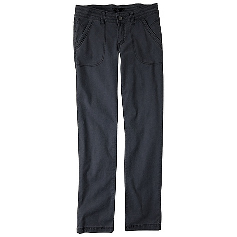 On Sale. Free Shipping. Prana Women's Taylor Pant DECENT FEATURES of the Prana Women's Taylor Pant Organic stretch canvas pant with enzyme wash Pigment dyed for worn vintage look Heavy tonal top stitching at waistband, pockets and hem Front slant pockets Size 4= 32in. (81.3 cm) inseam Relaxed Fit The SPECS Fabric: 96 Organic Cotton / 4 Spandex Weight: 5 oz - $54.99