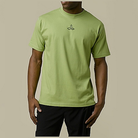 Prana Men's Dri Balance Graphic Tee DECENT FEATURES of the Prana Men's Dri Balance Graphic Tee Dri-Balance fabric blended with a touch of organic cotton Quick-drying and anti-microbial proper ties Moisture wicking Screenprint graphic at front chest Chose the silhouette, graphic and tee color. The SPECS Fabric: 60 Cotton / 40 Cotton - $34.95