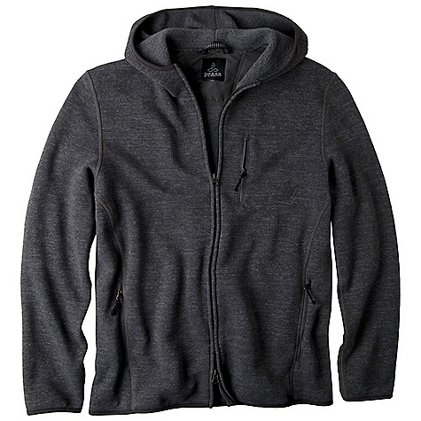 On Sale. Free Shipping. Prana Men's Bryce Zip Up DECENT FEATURES of the Prana Men's Bryce Zip Up Performance heathered 'sweater' face fleece with thermal properties Front chest pocket with invisible zipper closure Peached stretch polyester binding Back yoke embroidery Contrast cover stitch details Internal media pocket Stretch nylon binding Icon embroidery detail at front chest pocket Standard fit The SPECS 100 Polyester - $82.99
