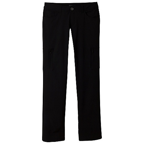 Free Shipping. Prana Women's Greta Pant DECENT FEATURES of the Prana Women's Greta Pant Performance pant with DWR coating Four-way stretch fabric with soft brushed polyester fleece inside Moisture management Zipper cargo pockets Size 4= 32in. (81.3 cm) inseam Standard fit The SPECS Fabric: 53 Nylon / 38 Polyester / 9 Spandex Weight: 6.7 oz - $89.95