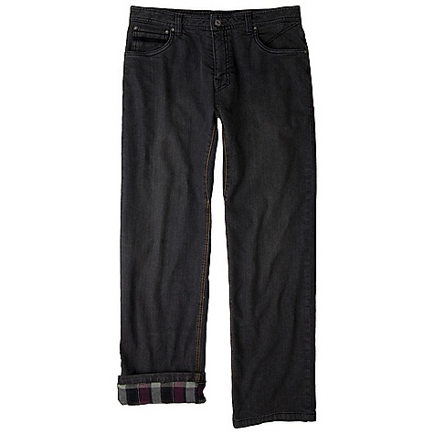 Free Shipping. Prana Men's Axiom Flannel Lined Jean DECENT FEATURES of the Prana Men's Axiom Flannel Lined Jean We added a flannel lining to our quintessential stretch denim Great for cold weather climates without giving up style and comfort Standard Fit The SPECS Inseam: 33in. / 83.8 cm, waist: 33in. / 83.8 cm Fabric: Shell: 98 Cotton/ 2 Spandex Weight: 10.8 oz / sq yd Lining: 100 Polyester - $109.95