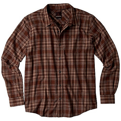 Free Shipping. Prana Men's Catawba DECENT FEATURES of the Prana Men's Catawba Brushed flannel fabrication Front patch pocket Back pleats for a comfortable range of movement Standard Fit The SPECS Fabric: 100 Cotton Weight: 4.2 oz - $69.95