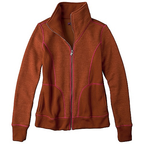 On Sale. Free Shipping. Prana Women's Tobi Zip Up DECENT FEATURES of the Prana Women's Tobi Zip Up Long sleeve full zip jacket Heathered sweater knit with wicking properties Rib insets and collar Contrast stitching Standard fit The SPECS 100 Polyester - $64.99