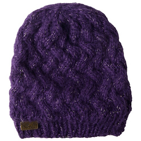 Entertainment Prana Dogree Beanie DECENT FEATURES of the Prana Dogree Beanie Lattice texture beanie with lurex detail Prana metal logo tab Standard Fit The SPECS Fabric: 100 Acrylic - $28.00