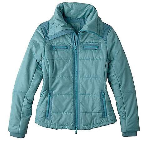 Free Shipping. Prana Women's Lovetta Jacket DECENT FEATURES of the Prana Women's Lovetta Jacket Water resistant and breathable Textured outer mixed with solid matte details Zippered pockets Versatile collar with cinch at back Gator cuffs 170g fill Standard fit The SPECS Outer: 80 Polyester / 20 Nylon Lining and Fill: 100 Polyester - $198.95