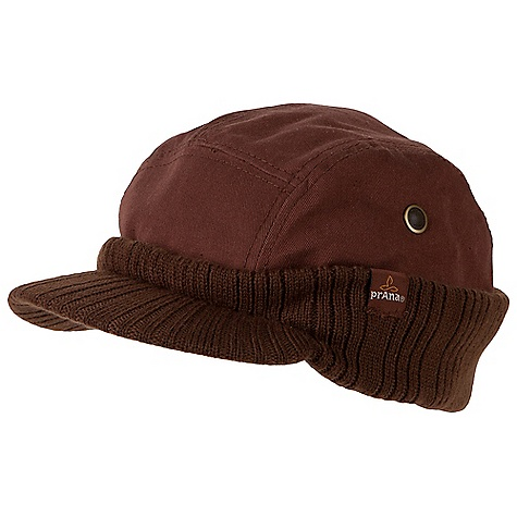 Entertainment Prana Tyler Beanie DECENT FEATURES of the Prana Tyler Beanie Five panel Cotton twill wrapped with knit bottom that can pull down around back Side gromments Quilted liner Standard Fit The SPECS Fabric: 100 Cotton - $31.95