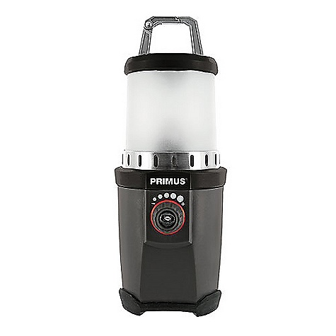 Free Shipping. Primus Polaris XL Lantern The SPECS Weight: 17.3 oz / 490 g Dimension: 3.7 x 9.8in. / 95 x 250 mm Luxeon Dio: Z-Power P4 (12-110 lumens) Burn Time: 17-300 h Alkaline Batteries: 3 D Water resistant (IPX4) - $84.00