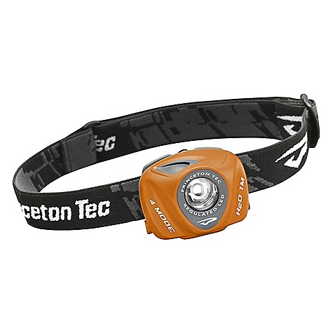 Camp and Hike Princeton Tec Eos Headlamp The Eos Headlamp by Princeton Tec takes self-contained battery lighting to the next level! The combination of a Maxbright 1 Watt LED and the Princeton Tec-designed optimized lens/collimator maximizes the beam by balancing long-throw with localized lighting. This Princton Tec LED headlamp recognizes that different amounts of light are needed for different activities- Princeton Tec equipped the Eos with 3 brightness levels and a blinking mode; further ensuring that the Eos will remain at Constant Brightness as long as the batteries have sufficient voltage. The use of high-grade materials ensures durability and strong resistance to water/ weather/environment conditions. SPECIFICATIONS of the Eos Headlamp by Princeton Tec Power: 70 Lumens Lamp: Maxbright LED Burn Time: 121 Hours Batteries: 3 AAA Alkaline or Lithium Weight: 105g with Battery Weight: 71g without Battery Brightness: 50 Lumens Distance: 56 meters Brightness Level/Modes: 3 Levels, 1 Flash Mode Regulated LED: + Waterproof Rating: Level 2 UL Rating: Approved UL Temp Code: T6 - $44.95