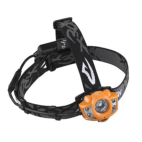 Camp and Hike Free Shipping. Princeton Tec Apex Rechargeable Headlamp DECENT FEATURES of the Princeton Tec Apex Rechargeable Headlamp 90 hours of burntime Has a rechargeable lithium ion battery pack which clips to the headstrap Can be moved to the user's belt or stashed in their pack with an extended power cable A USB charging cable comes standard with the headlamp With a single Regulated Maxbright LED partnered with Four white Regulated Ultrabright LEDs, it provides either a powerful spot beam or a bright flood Two big buttons make switching between modes easy Includes a 42in. Extension Cord Remote Lithium Ion Rechargeable Battery Head Strap & Crown Strap Head Strap Bracket Velcro Strap to mount to Bike Helmet The SPECS Power: 200 Lumens Lamp: 4 Ultrabright LEDs, Maxbright LED Burn Time: 90 Hours Batteries: Lithium Ion Rechargeable Weight: 283 Grams - $149.95