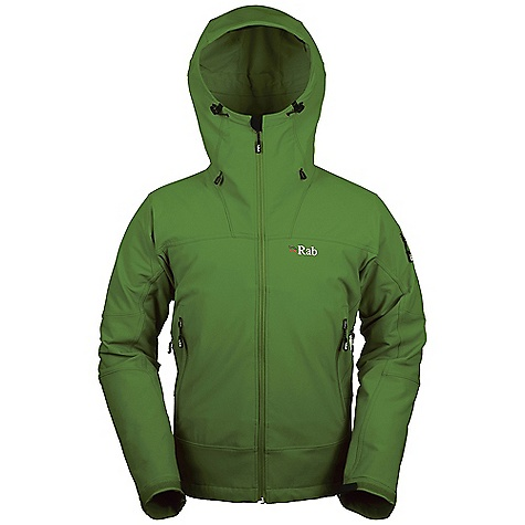 On Sale. Free Shipping. Rab Men's Exodus Jacket FEATURES of the Rab Men's Exodus Jacket Heavyweight Matrix DWS fabric Helmet compatible hood, wired peak, kitty clip roll down closure YKK calendered front zip, internal storm flap, chin guard 2 A-line YKK calendered zipped pockets 1 small YKK calendered zipped security pocket on sleeve YKK calendered pit zips Articulated sleeves Velcro cuffs, hem drawcord Regular fit - $159.99