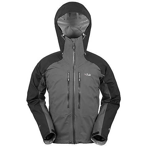 Free Shipping. Rab Men's Stretch Neo Jacket DECENT FEATURES of the Rab Men's Stretch Neo Jacket Polartec NeoShell 3L fabric Helmet compatible hood, wired peak, roll down Velcro tab YKK Aquaguard front zip, internal storm flap, rain drain Tricot lined collar 2 YKK Aquaguard zipped external Napoleon pockets 2 YKK zipped internal mesh pockets Velcro cuffs, hem drawcord Reflective trim Fit: Regular The SPECS Weight/m2: 136 g/m2 Comp: 100% nylon Total Weight: 18 oz / 500 g This product can only be shipped within the United States. Please don't hate us. - $385.00