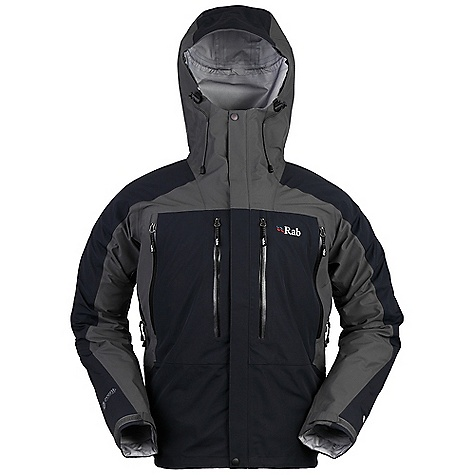 Free Shipping. Rab Men's Latok Jacket DECENT FEATURES of the Rab Men's Latok Jacket eVent 3L fabric Matrix DWS fabric bib Schoeller-keprotec fabric kick patches Full length YKK Aquaguard side zips, internal storm flap, rain drain 2-way YKK Aquaguard front zip Adjustable braces Opening seat Diamond gusset Knee articulation 2 YKK zipped chest storage pockets Hem drawcord Reinforced kick patches Fit: Regular The SPECS Main Weight/m2: 160g/m2 Main Comp: 100% nylon Seat and knees Weight/m2: 187g/m2 Seat and knees Comp: 100% nylon Total Weight: 28 oz / 800 g Inside Leg Length: (L): 33in. / 85 cm This product can only be shipped within the United States. Please don't hate us. - $450.00