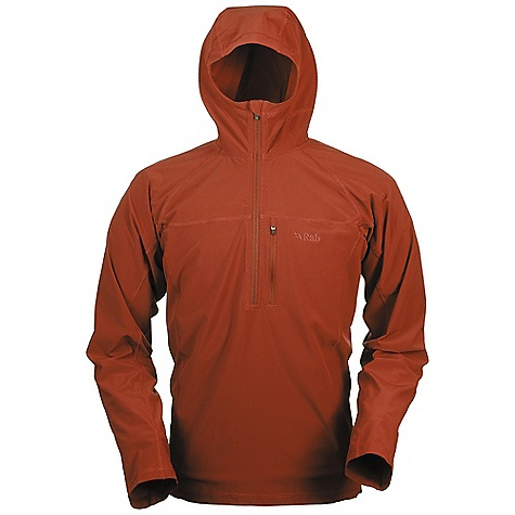 Free Shipping. RAB Men's Boreas Pull-On Jacket DECENT FEATURES of the RAB Men's Boreas Pull-On Jacket Matrix SWS fabric Polygiene Stay fesh odour control treatment Under helmet hood Deep venting YKK chest zip 1 YKK zipped chest stash pocket Flatlock low bulk stretch seams Open cuffs Fit: Slim The SPECS Weight: 131g/m2 Comp: 86% polyester / 14% Spandex Total Weight: 9 oz / 260 g This product can only be shipped within the United States. Please don't hate us. - $85.00