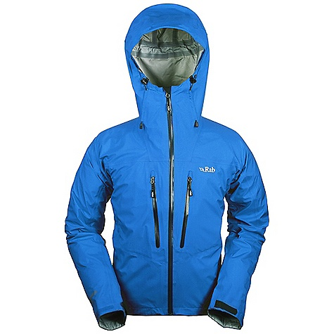 Free Shipping. Rab Men's Momentum Jacket DECENT FEATURES of the Rab Men's Momentum Jacket eVent 3L fabric Helmet compatible hood, wired peak, kitty clip roll down closure YKK Aquaguard front zip, internal storm flap, rain drain 2 YKK Aquaguard zipped Napoleon pockets, rain drains Velcro cuffs, hem drawcord Reflective trim Fit: Regular The SPECS Weight/m2: 95 g/m2 Comp: 100% nylon Total Weight: 13 oz / 360 g This product can only be shipped within the United States. Please don't hate us. - $325.00