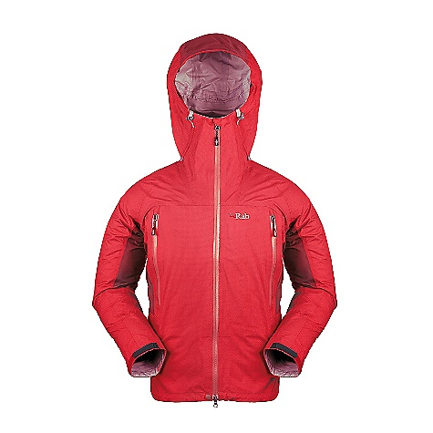 Free Shipping. Rab Men's Latok Alpine Jacket DECENT FEATURES of the Rab Men's Latok Alpine Jacket eVent 3L fabric Helmet compatible hood, wired peak, roll down Velcro tab 2-way YKK Aquaguard front zip, internal storm flap, rain drain Tricot lined collar 2 YKK Aquaguard zipped A-line chest pockets 2 YKK zipped internal mesh pockets Velcro cuffs, hem drawcord Reflective trim Fit: Regular The SPECS Weight/m2: 112 g/m2 Comp: 100% nylon Total Weight: 19 oz / 540 g This product can only be shipped within the United States. Please don't hate us. - $350.00