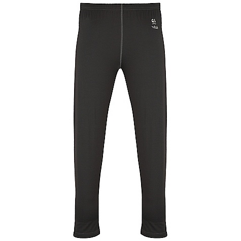 Free Shipping. Rab Men's MeCo 120 Pants DECENT FEATURES of the Rab Men's MeCo 120 Pants Merino Cocona fabric Low bulk elasticated waistband Flatlock low bulk seams Reflective branding Fit: Slim The SPECS Inside Leg Length: (L): 31in. / 79 cm Total Weight: 4 oz / 125 g Fabric: 120 g intimate blend of Merino Cocona polyester yarns (65% Merino / 35% Cocona) This product can only be shipped within the United States. Please don't hate us. - $65.00