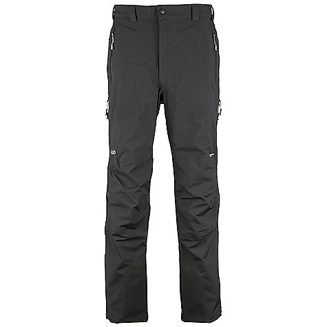 Free Shipping. Rab Men's Stretch Neo Pants DECENT FEATURES of the Rab Men's Stretch Neo Pants Polartec NeoShell 3L fabric Cordura fabric kick patches YKK Aquaguard 3/4 side zips, internal storm flap Additional zip sliders allow venting YKK Aquaguard zip fly Snap closure at waistband with hook and eye Tricot lined waistband Belt loops Brace attachment points 2 YKK Aquaguard hand warmer pockets Knee articulation Hem drawcord Reflective trim Fit: Regular The SPECS Main Weight/m2: 136 g/m2 Inside Leg Length: (L): 33in. / 84 cm Main Comp: 100% nylon kick Patches Weight/m2: 171 g/m2 kick Patches Comp: 100% nylon 66 Total Weight: 17 oz / 480 g This product can only be shipped within the United States. Please don't hate us. - $325.00