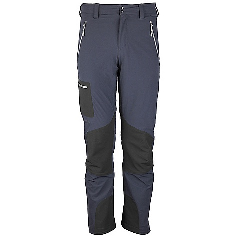 Free Shipping. Rab Men's Sawtooth Pants DECENT FEATURES of the Rab Men's Sawtooth Pants Matrix DWS fabric Tricot lined waistband Snap waistband closure Belt loops YKK fly zip 2 YKK zipped hip pockets 2 YKK zipped thigh pockets Articulated knees Hem drawcord Reinforced kick patches Different leg lengths available Fit: Regular The SPECS Weight: 182g/m2 Comp: 90% nylon 66 / 10% spandex Total Weight: 13 oz / 380 g This product can only be shipped within the United States. Please don't hate us. - $140.00