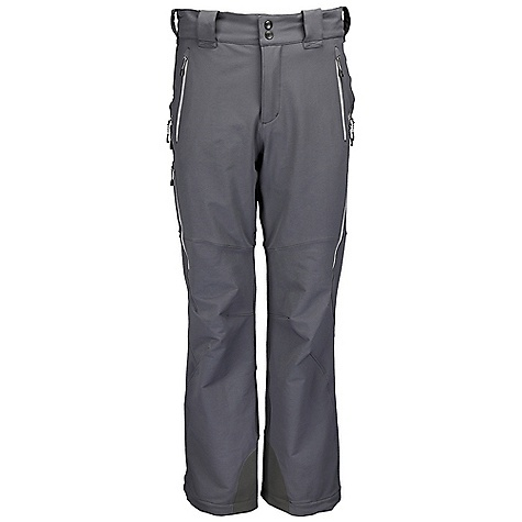 Free Shipping. Rab Men's Exodus Pants DECENT FEATURES of the Rab Men's Exodus Pants Tricot lined waistband Snap and hook/eye waistband closure Belt loops Brace attachment points YKK calendered fly zip 2 YKK calendered zipped hip pockets 1 YKK calendered zipped thigh pocket, mesh lined YKK calendered zipped thigh vents, internal storm flaps Knee articulation Adjustable hem cinch system Reinforced kick patches Fit: Relaxed The SPECS Weight: 19 oz / 530 g Length: 32in. / 81 cm Whole Item Weight/m2: 275g/m2 Whole Item Comp: 46% nylon 66, 46% poly, 8% spandex Kick Patches Weight/m2: 171g/m2 Kick Patches Comp: 100% nylon 66 This product can only be shipped within the United States. Please don't hate us. - $149.95