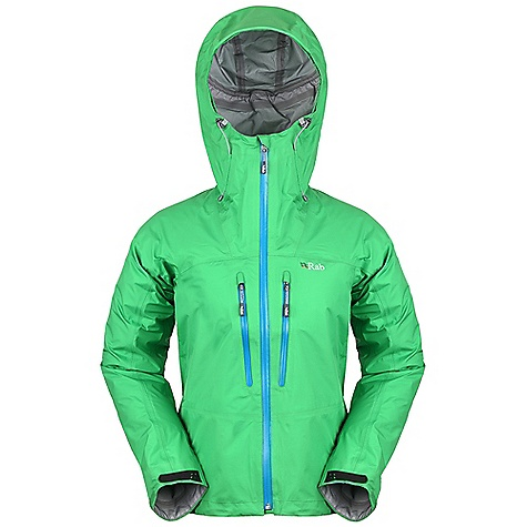 Free Shipping. Rab Women's Momentum Jacket DECENT FEATURES of the Rab Women's Momentum Jacket eVent 3L fabric Helmet compatible hood, wired peak, kitty clip roll down closure YKK Aquaguard front zip, internal storm flap, rain drain 2 YKK Aquaguard zipped Napoleon pockets, rain drain Velcro cuffs, hem drawcord Reflective trim Fit: Regular The SPECS Main Weight/m2: 95 g/m2 Main Comp: 100% nylon Total Weight: 11 oz / 320 g This product can only be shipped within the United States. Please don't hate us. - $325.00