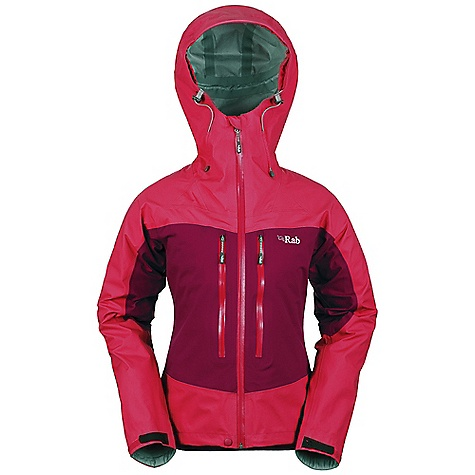 Free Shipping. Rab Women's Neo Jacket DECENT FEATURES of the Rab Women's Neo Jacket Polartec NeoShell 3L fabric Helmet compatible hood, wired peak, roll down Velcro tab YKK Aquaguard front zip, internal storm flap, rain drain Tricot lined collar 2 YKK Aquaguard zipped external Napoleon pockets 2 YKK zipped internal mesh pockets Velcro cuffs, hem drawcord Reflective trim Fit: Regular The SPECS Weight/m2: 136 g/m2 Comp: 100% nylon Total Weight: 17 oz / 480 g This product can only be shipped within the United States. Please don't hate us. - $385.00