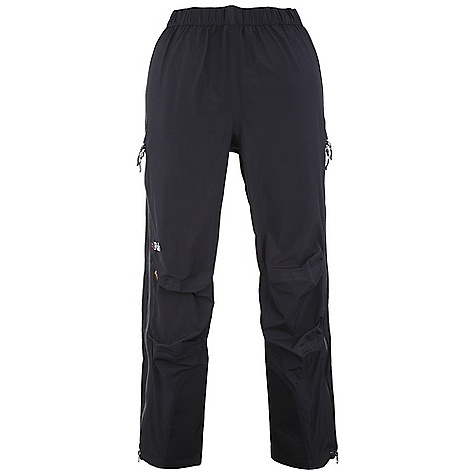 Free Shipping. Rab Women's Latok Alpine Pants DECENT FEATURES of the Rab Women's Latok Alpine Pants eVent 3L fabric 3/4 length YKK Aquaguard side zips, internal storm flap, rain drain Additional zip sliders allow venting Elasticated waistband with drawcord Brace attachment points Knee articulation Hem drawcord Reinforced kick patches Fit: Regular The SPECS Main Weight/m2: 112 g/m2 Inside Leg Length: 30in. / 77 cm Main Comp: 100% nylon Knees Weight/m2: 165 g/m2 Knees Comp: 100% nylon Total Weight: 13 oz / 380 g This product can only be shipped within the United States. Please don't hate us. - $250.00