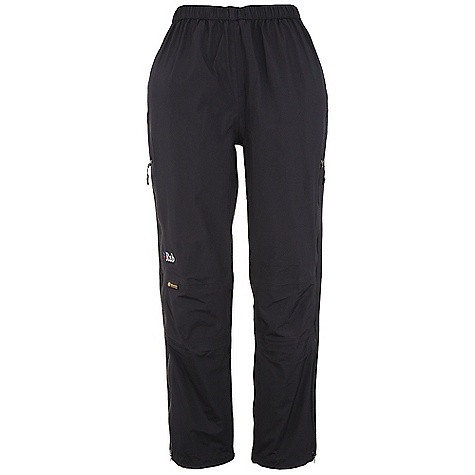 Free Shipping. Rab Women's Vidda Pants FEATURES of the Rab Women's Vidda Pants eVent 3L fabric. Heavier weight on knees for durability Elasticated waistband with drawcord 3/4 length YKK Aquaguard side zips, internal storm flap, 3 zip pullers for venting Knee articulation Hem drawcord Regular fit - $224.95